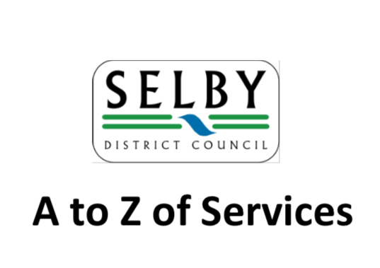 Selby District Council A-Z Of Services